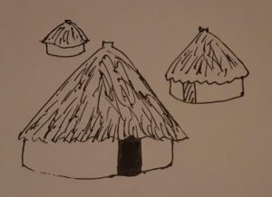 Gog's house in his Neolithic Village